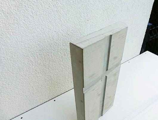 Model wykonany z gipsu