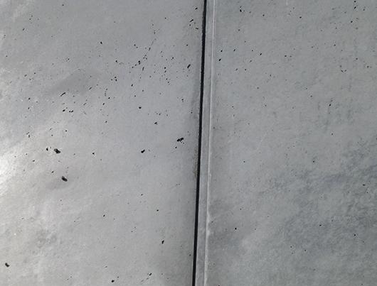 Listwa UM zastosowana w ścianach przyczółków obiektów mostowych